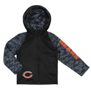Chicago Bears zip front hoodie official NFL NEW